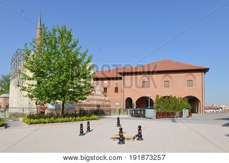 Ankara, Turkey - Historical Hacibayram Mosque