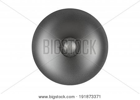 Audio Tweeter Speaker Isolated On White Background