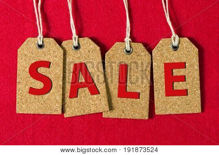 Sale Sign On Tags