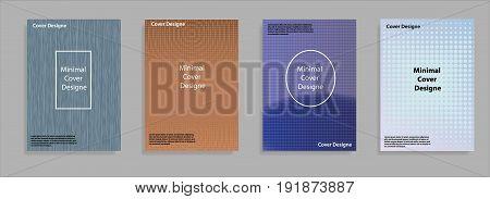 Minimal Covers Design. Cool Halftone Gradients. Future Geometric Template. Eps10 Vector.