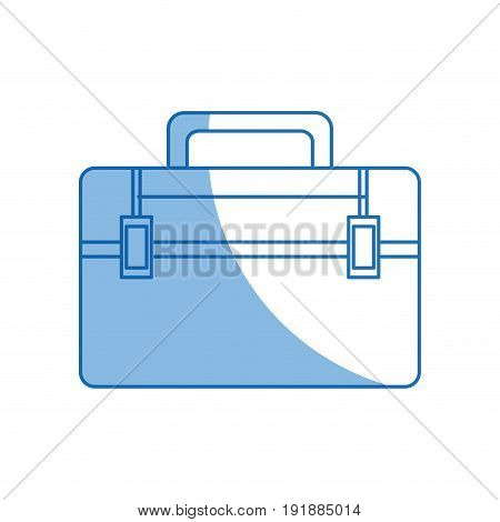 cartoon kit first aid emergency urgent care vector illustration