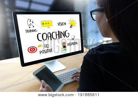 Coaching Training Planning Learning Coaching Business Guide Instructor Leader