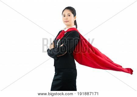 Confidence Smiling Super Lawyer Hero