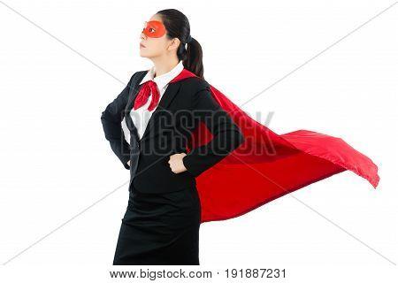 Superhero In Woman Business