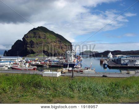Near The Docks At Heimaey