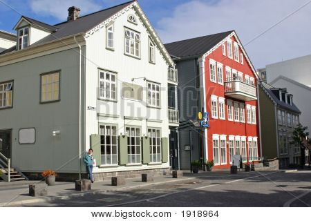 A Reykjavik Street