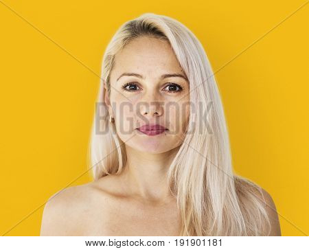 Woman standing and posing for photoshoot