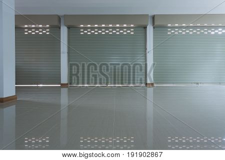 Aluminium Steel Metal Roller Shutter Door In Warehouse Building Industry