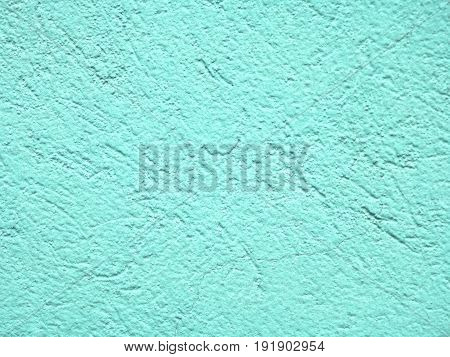 Light Teal wall texture concrete for background