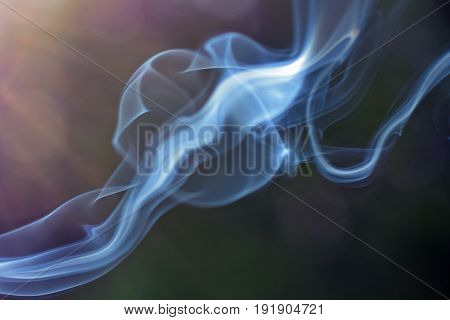 Abstract smoke with backlight background. horizontal image.