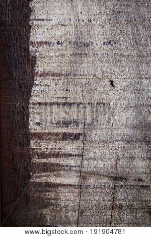 Abstract Wood Aged Weathered Rough Grain Surface Texture Background