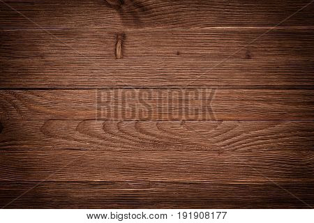 Overhead View Of Wooden Table, Background Texture