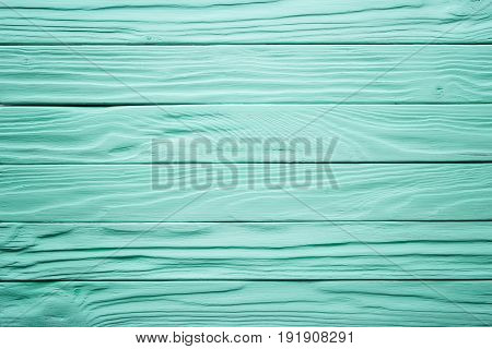 Old Wooden Table, Blue Surface Of Painted Wood. Antique Texture, Background