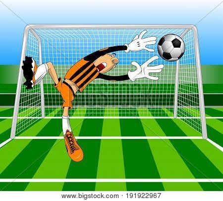 soccer design element green background vector and illustration
