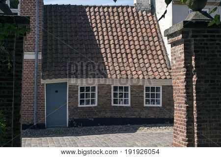 Ribes smallest house. 27 square meters. Ribe, Denmark