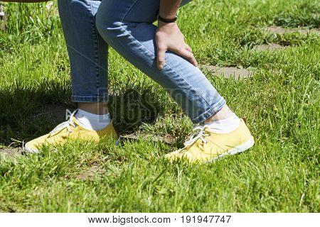 Damaged Leg Muscles Women
