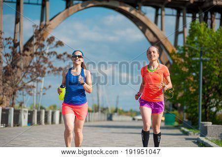 Two Running Girls 02
