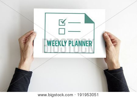 Planner To Do List Agendar Note Graphic