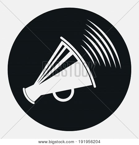 icon megaphone icon message report information speakerphone fully edit image