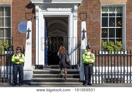 The Royal Institute Of International Affairs Chatham House
