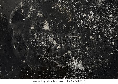 Grunge vintage dark background cement texture wall