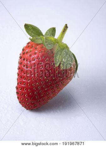front view of strawberry