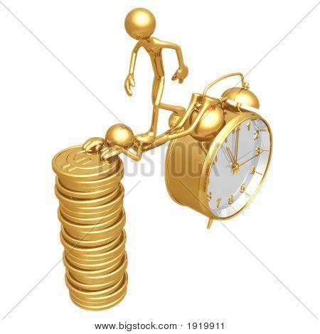 Sacrifice Bridge Between Time And Gold Euro Coins