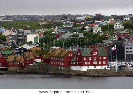 Schöne Torshavn