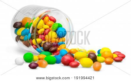 Color colorful candies green fun red yellow
