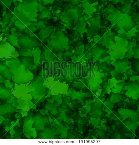Dark Green Watercolor Texture Background. Captivating Abstract Dark Green Watercolor Texture Pattern