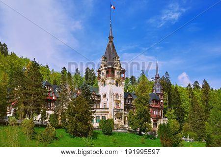 Peles Castle (Castelul Peles) in Sinaia Romania