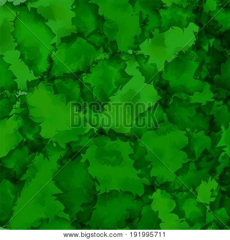 Dark Green Watercolor Texture Background. Mesmeric Abstract Dark Green Watercolor Texture Pattern. E