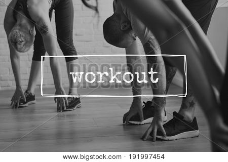 Sport healthy life wellness lifestyle workout