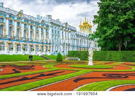 RUSSIA Tsarskoe Selo - JULY 20 2013.