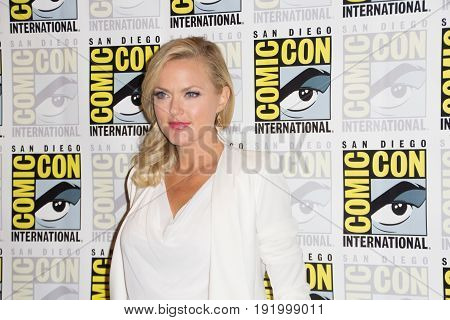 San Diego, CA - July 12, 2015: Elaine Hendrix of The FX's Sex&Drugs&Rock&Roll arrives at Comic Con 2015 in San Diego, CA.