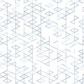 Geometric random lines pattern. Abstract technology background with grey geometric shapes in tessellation on white. Linear abstract lattice random coloring. Vector seamless linear pattern. poster