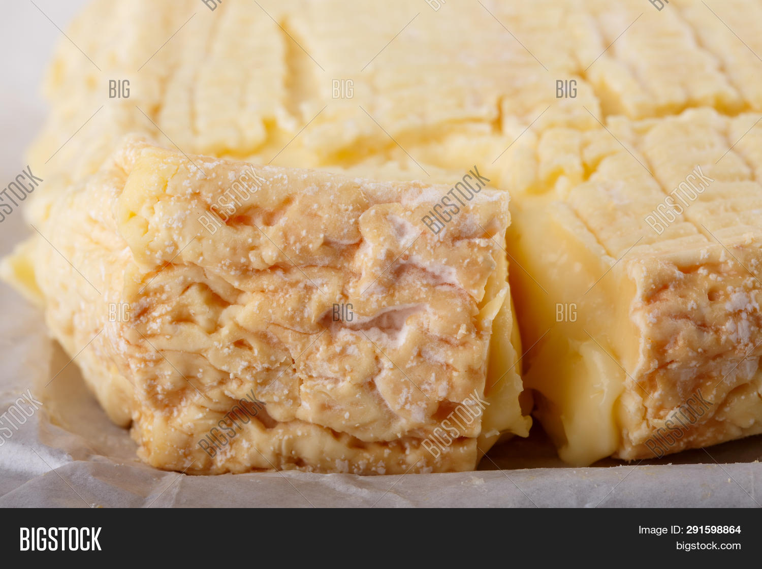 Pont L Eveque Cheese Image Photo Free Trial Bigstock