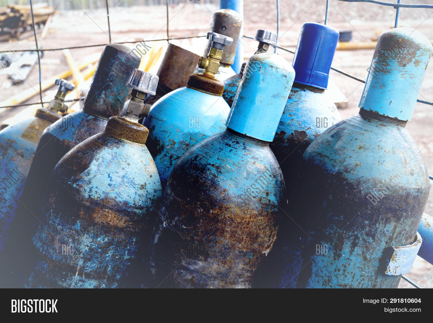 Natural Gas Cylinders  Image & Photo (Free Trial) | Bigstock