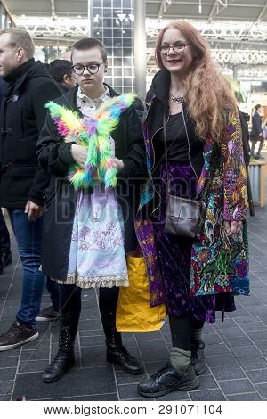 A Colour Walk Is An Informal Gathering Of Creative People Getting Dressed Or Dressing Up To Inspire