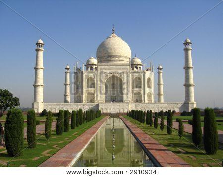 taj mahal india. ultimate symbol of