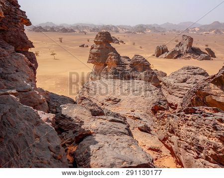 The Ennedi Plateau, Located In The Northeast Of Chad, In The Regions Of Ennedi-ouest And Ennedi-est,