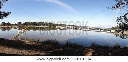 Lake Burley Griffin Dam