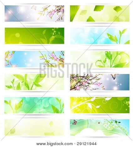 Eco Banner Set