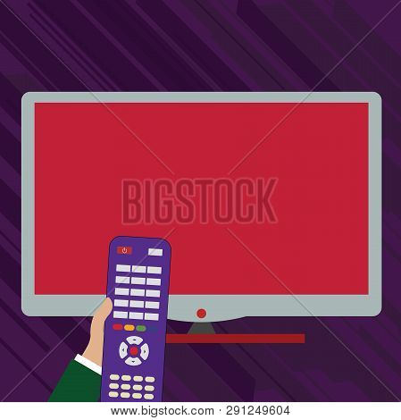 Hand Holding Computer Vector & Photo (Free Trial) | Bigstock