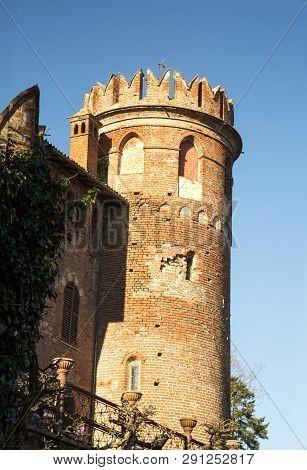 Round Tower Of Renaissance Castle