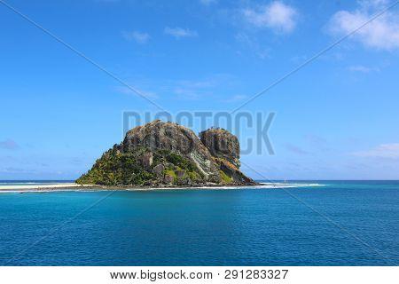Rock Pinacle Of The Sacred Islands, Mamanuca Islands, Fiji