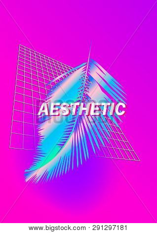 Vaporwave Synthwave Vector Photo Free Trial Bigstock