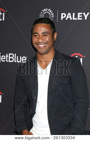 LOS ANGELES - MAR 23:  Beulah Koale at the PaleyFest -