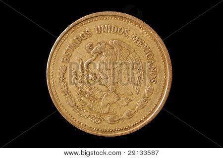 Mexican   coin. 1988