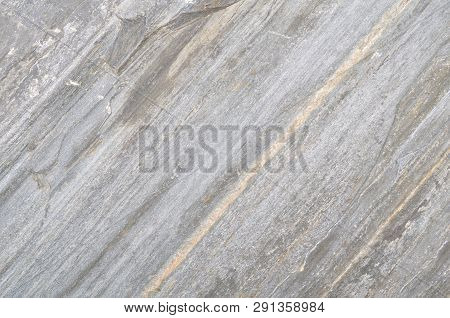 Slate Texture On Slate-phyllite Metamorphic Rock Transformation Background, Real Slate Stone Pattern